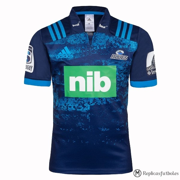 Camiseta Blues Segunda 2018 Azul Replicas Rugby