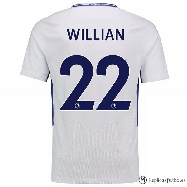 Camiseta Chelsea Segunda Willian 2017/2018 Replicas Futbol