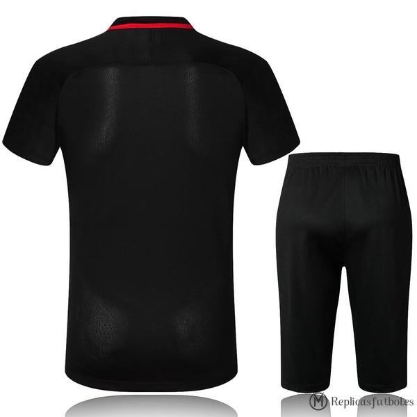 Camiseta Entrenamiento Barcelona Conjunto Completo 2017 2018 Negro Replicas  Futbol 52b8bdfd3a048