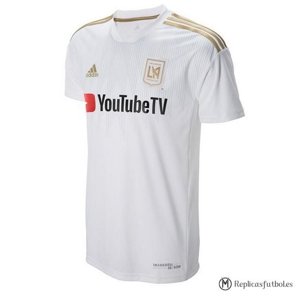 Camiseta LAFC Segunda 2018 19 Blanco Replicas Futbol 6f362ed7fddb1