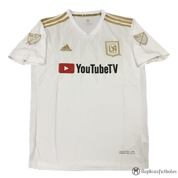 Camiseta Los Angeles Galaxy Segunda 2018/19 Blanco Replicas Futbol