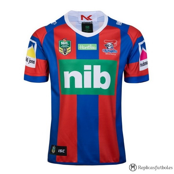 Camiseta Newcastle Knights Primera 2018 Rojo Replicas Rugby