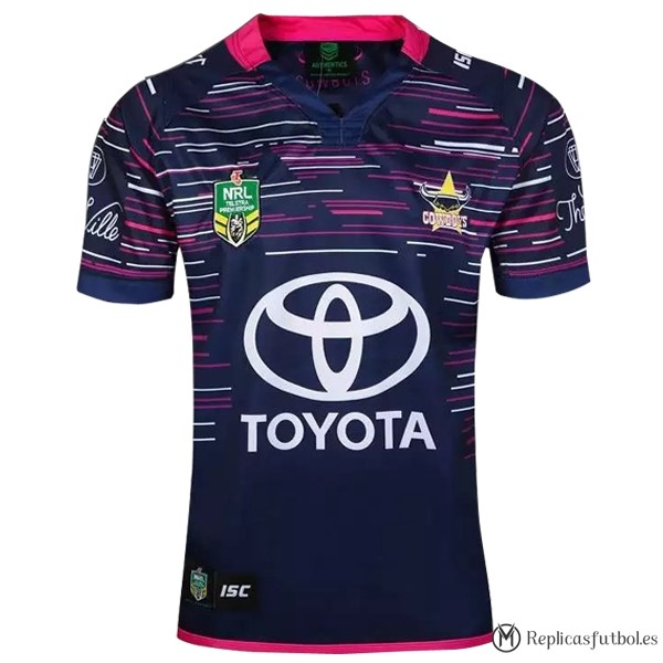 Camiseta North Queensland Cowboys Segunda 2016/2017 Replicas Rugby