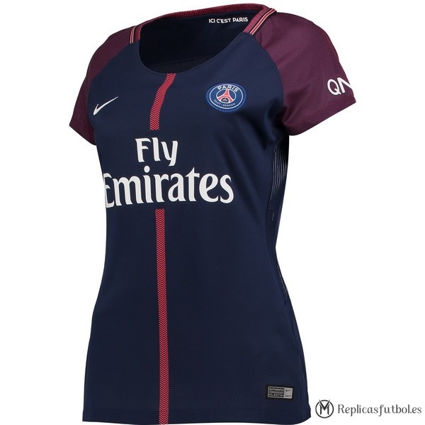 Camiseta Paris Saint Germain Mujer Primera 2017/2018 Replicas Futbol