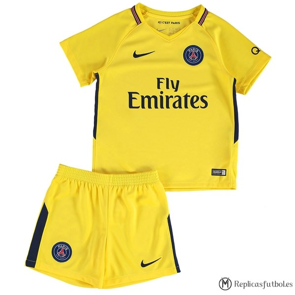 Camiseta Paris Saint Germain Niño Segunda 2017/2018 Replicas Futbol