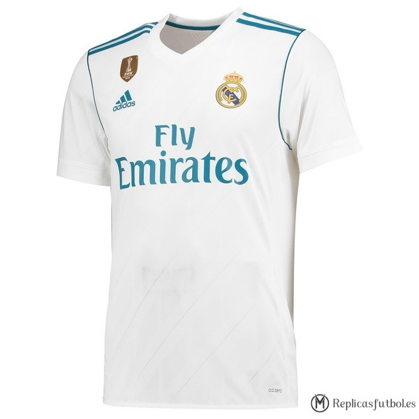 Camiseta Real Madrid Primera 2017/2018 Replicas Futbol