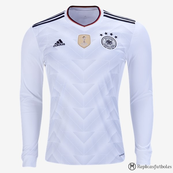 Camiseta Seleccion Alemania Primera ML 2017 Replicas Futbol