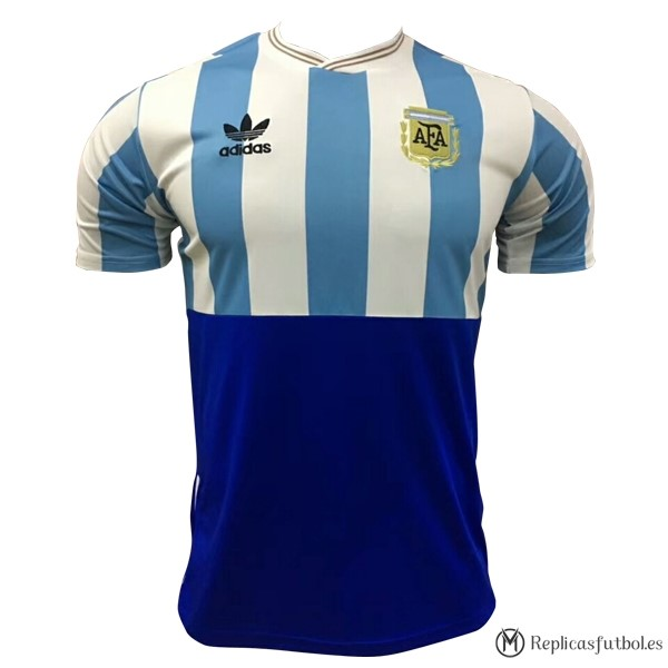 Camiseta Seleccion Argentina Edición Conmemorativa 2018 Azul Replicas Futbol cc91628a28b3c