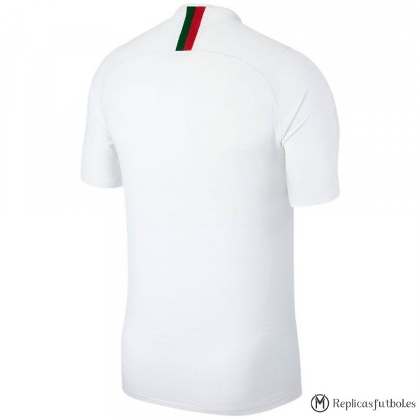 Camiseta Seleccion Portugal Segunda 2018 Blanco Replicas Futbol