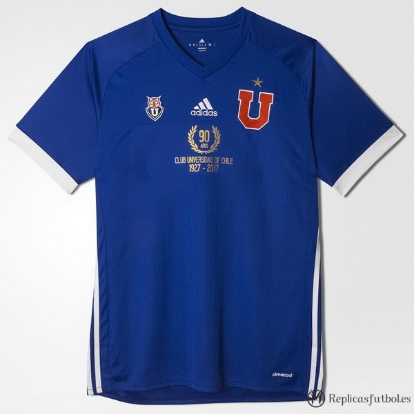 Camiseta Universidad De Chile Primera 90th 1927-2017 Replicas Futbol