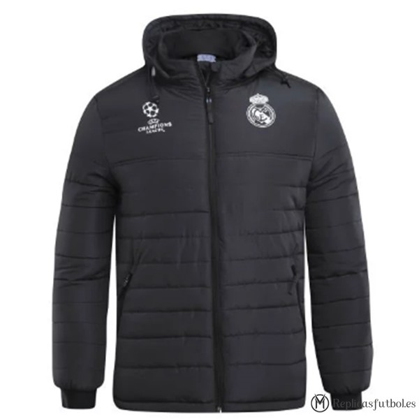 Chaqueta Real Madrid 2017/2018 Down Negro Replicas Futbol