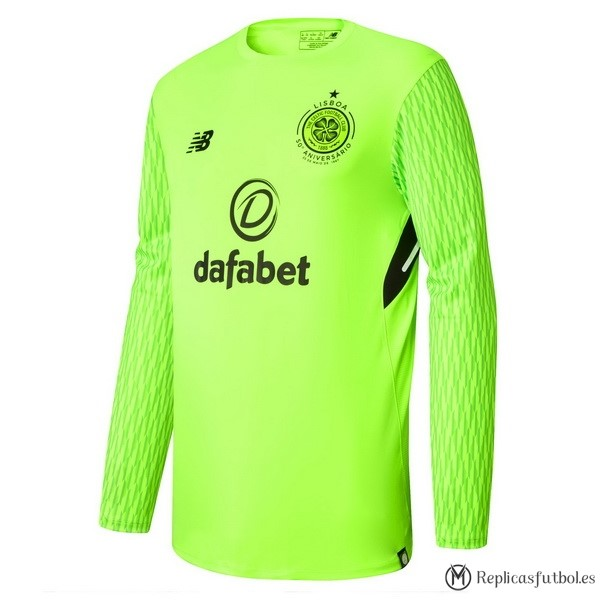 Camiseta Celtic Primera ML Portero 2017/2018 Replicas Futbol
