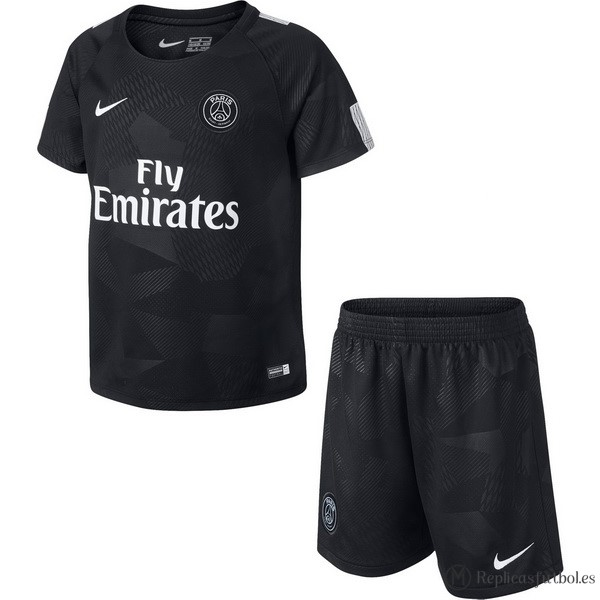 Camiseta Paris Saint Germain Niño Tercera 2017/2018 Replicas Futbol