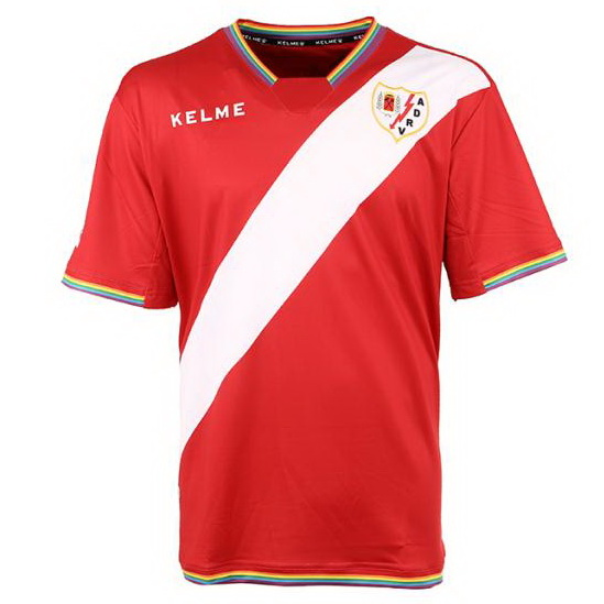 Camiseta Rayo Vallecano de Madrid Segunda 2017/2018 Replicas Futbol
