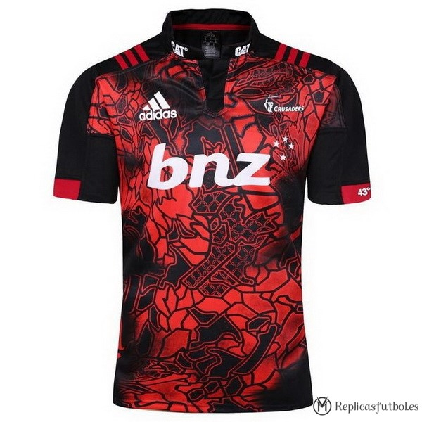Camiseta Crusaders 2017/2018 Rojo Replicas Rugby