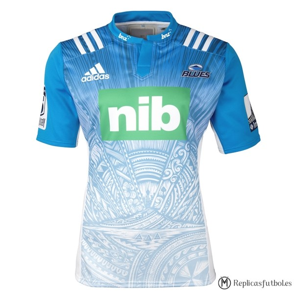 Camiseta Blues Segunda 2016 Replicas Rugby