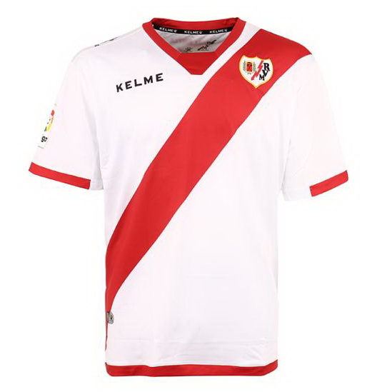 Camiseta Rayo Vallecano de Madrid Primera 2017/2018 Replicas Futbol
