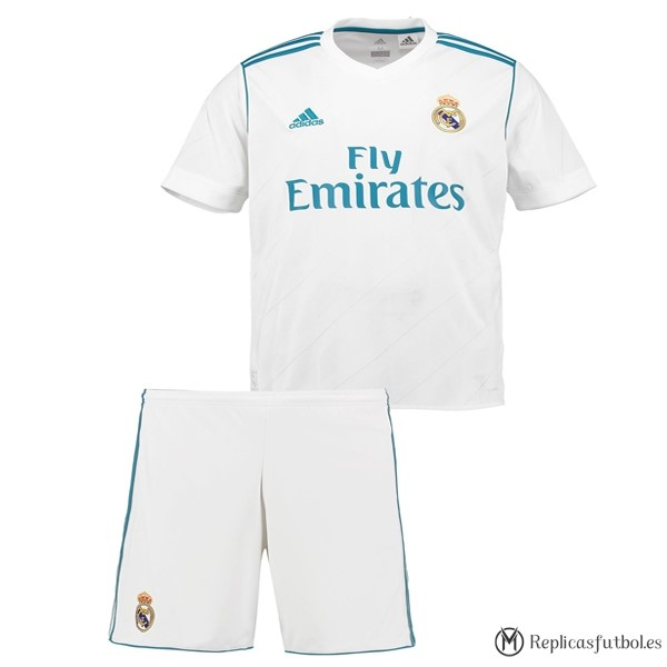 Camiseta Real Madrid Niño Primera 2017/2018 Replicas Futbol