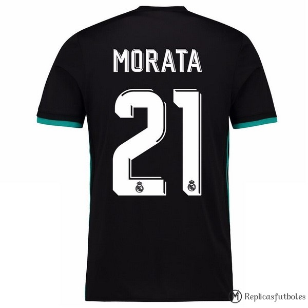 Camiseta Real Madrid Segunda Morata 2017/2018 Replicas Futbol