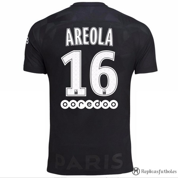 Camiseta Paris Saint Germain Tercera Areola 2017/2018 Replicas Futbol
