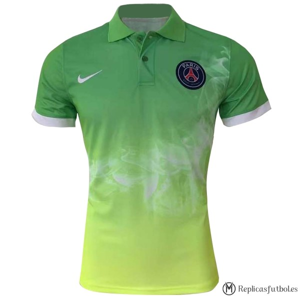 Polo Paris Saint Germain 2017/2018 Verde Replicas Futbol