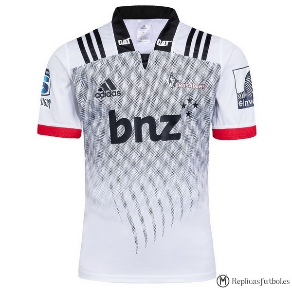 Camiseta Crusaders Segunda 2018 Blanco Replicas Rugby