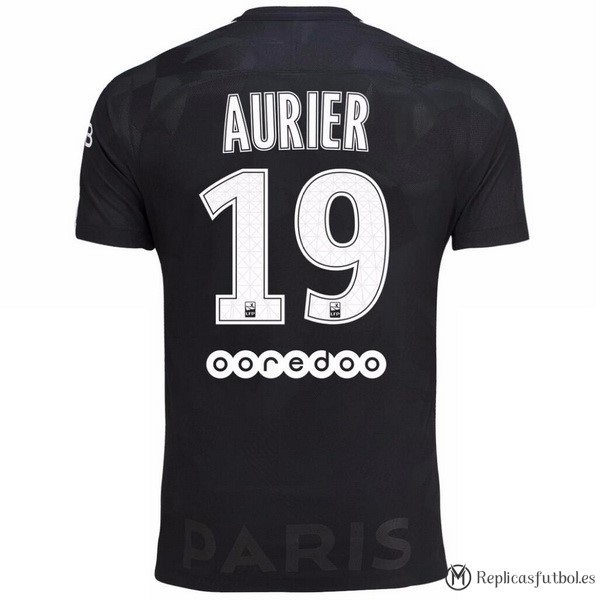 Camiseta Paris Saint Germain Tercera Aurier 2017/2018 Replicas Futbol