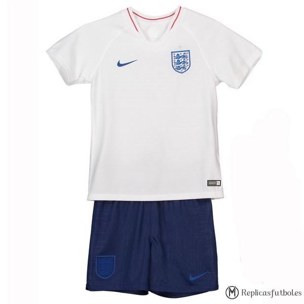 Camiseta Seleccion Inglaterra Niño Primera 2018 Blanco Replicas Futbol 35939d4f91967