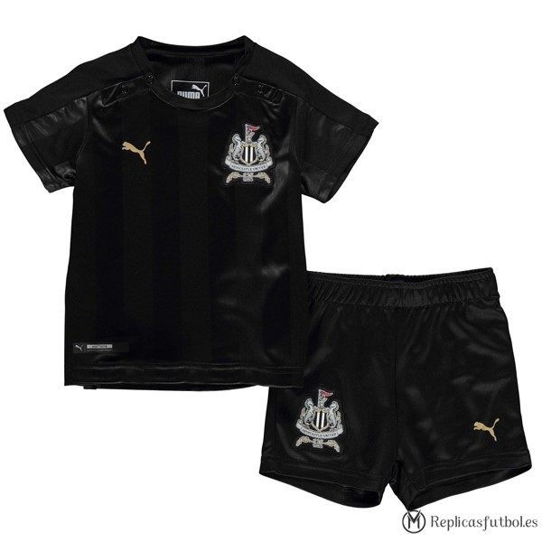 Camiseta Newcastle United Niño Tercera 2017/2018 Replicas Futbol