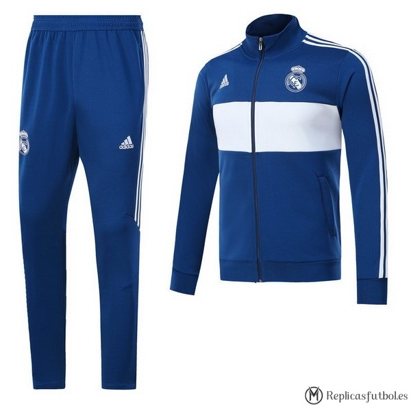 Chandal Real Madrid 2017/2018 Azul Blanco Replicas Futbol