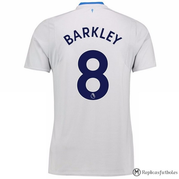 Camiseta Everton Segunda Barkley 2017/2018 Replicas Futbol