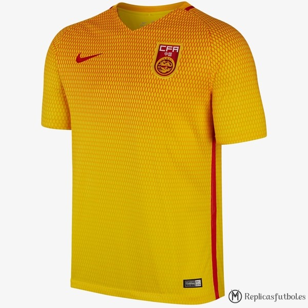 Tailandia Camiseta Seleccion China Segunda 2017 Replicas Futbol