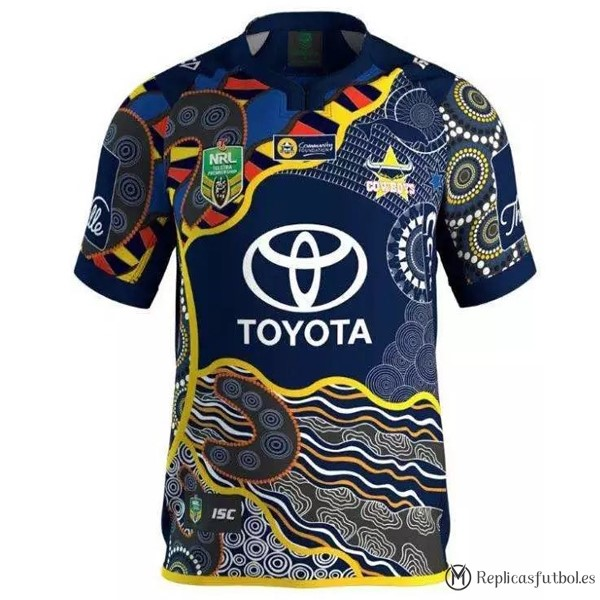 Camiseta North Queensland Cowboys Primera 2016/2017 Replicas Rugby