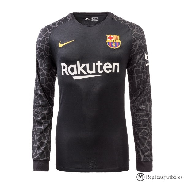 Camiseta Barcelona ML Portero 2017/2018 Replicas Futbol